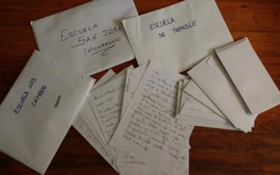 Intercanvi cultural entre escoles: les cartes ja estan de camí a Nicaragua!