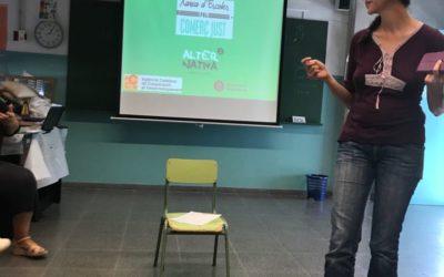 Noves activitats per incorporar el Comerç Just a les escoles del Baix Montseny